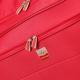 FRANCE BAG Sac de Voyage a Roulettes Souple 82 cm Rouge