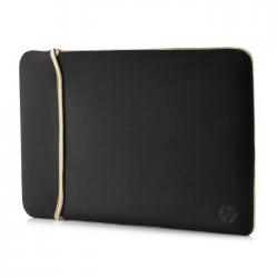 HP 15.6? Reversible Sleeve 2UF60AA ? Black/Gold