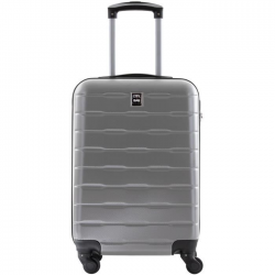 CITY BAG Valise Cabine ABS 4 Roues Silver