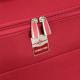 FRANCE BAG Sac de Voyage a Roulettes Souple 56 cm Rouge
