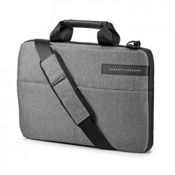 """HP Sacoche pour ordinateur portable  Signature Slim Topload  14""""  Noir / Gris"""