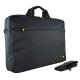 TECHAIR Sacoche pour ordinateur portable Souple 15.6''  Protection Mousse  Noire  Intérieur Gris