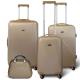 KINSTON Set 3 valises 4 roues  Vanity Beige