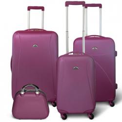 KINSTON Set 3 valises 4 roues  Vanity Violet