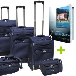 Pack de 6 3 valises  1 sac reporter  1 vanity K