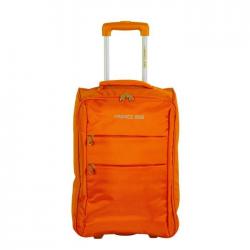 FRANCE BAG Valise Cabine Low Cost Souple 2 Roues 34cm orange