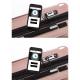 IKASE Valise Cabine Connectée Trolley Rigide Polycarbonate  8 Roues  50 cm  Or Rose