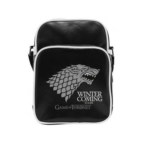 Sac Besace Game Of Thrones  Stark  Vinyle Petit Format  ABYstyle