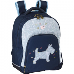 CHIPIE Cartable 38 cm Bleu