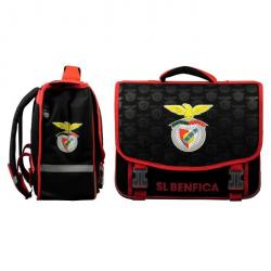 BENFICA LISBONNE Cartable  2 Compartiments  Primaire / College  41 cm  Noir et rouge  Enfant Garçon