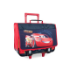 CARS Trolley 2 compartiments  Primaire  Garçon  41 cm  rouge