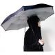 KINSTON Parapluie inversé Noir/Gris