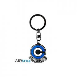 Porteclés Dragon Ball  DBZ/ Embleme Capsule Corp X4  ABYstyle