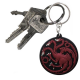 Porteclés PVC Game Of Thrones  Targaryen X4  ABYstyle