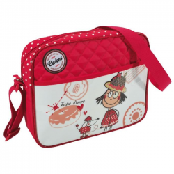 """SAVEBAG Petite besace """"Loulou"""" pour fille  Rouge"""