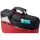 """HP Mallette pour ordinateur portable  Duotone BriefCase  15,6\""""  Rouge / Noir"""