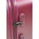 BILL TORNADE Set de 3 Valises Chariot Rigide ABS 4 Roues 486070cm BILL 5 Violet