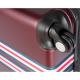 CDB Set de 3 Valises Chariots Rigides ABS 8 Roues 516171cm Bordeaux