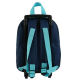 VAIANA  SAC A DOS A ROULETTES Maternelle Fille 25x11x31 BLEU MARINE