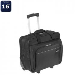 TARGUS Sacoche a roulettes pour ordinateur portable Executive 15,6 pouces  Noir